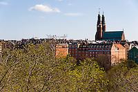 Sweden, Stockholm. Högalidskyrkan church, built 1916-1923.