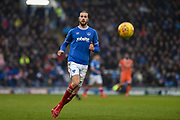 Portsmouth Defender, Christian Burgess (6) during the EFL Sky Bet League 1 match between Portsmouth and Shrewsbury Town at Fratton Park, Portsmouth, England on 27 January 2018. Photo by Adam Rivers.
