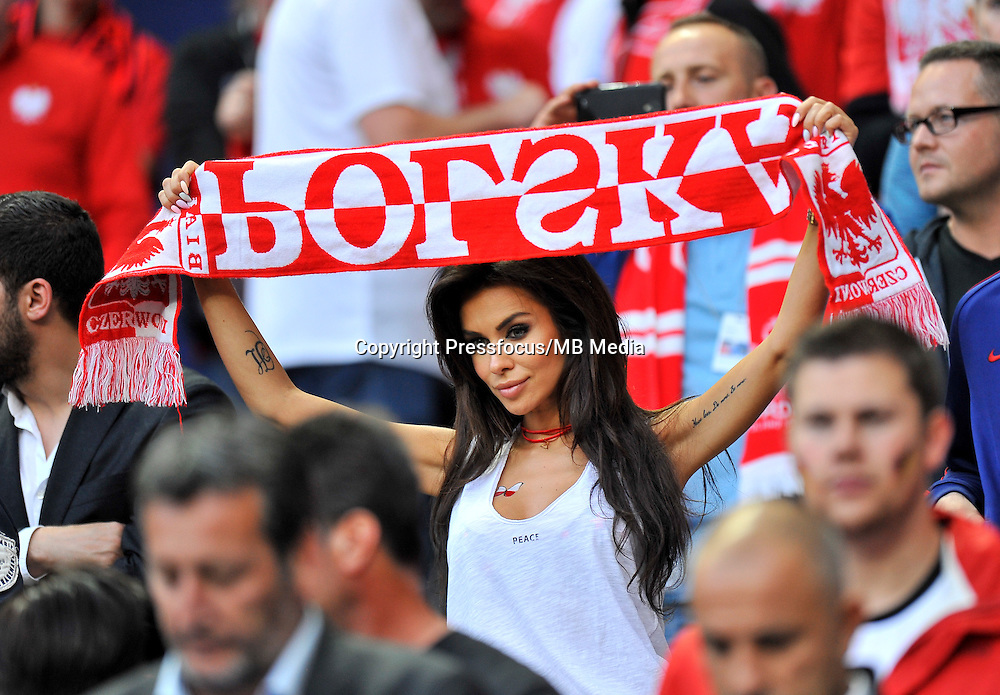 2016.06.16 Saint-Denis<br /> Football UEFA Euro 2016 group C game between Poland and Germany<br /> Natalia Siwiec<br /> Credit: Norbert Barczyk / PressFocus