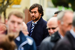 Steven Luatua in attendance at the Remembrance Service at the Memorial Stadium - Ryan Hiscott/JMP - 09/11/2018 - FOOTBALL - Memorial Stadium - Bristol, England - Memorial Stadium Remembrance Service