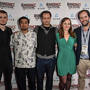 Kobold team Nominated attends the Raindance Film Festival - VR Awards, London, UK. 6 October 2018.