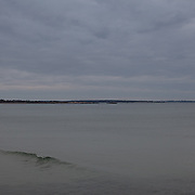 Today's  winter sunrise at Narragansett Town Beach,  .  March  3, 2013.
