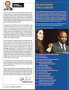 Récipiendaire du prix Jhon Humphrey.  Photographies de Marc Gibert publiées . Marc Gibert photographs published. à  Libertas / Montreal / Canada / 2012-06-09, © Photo © Marc Gibert / adecom.ca