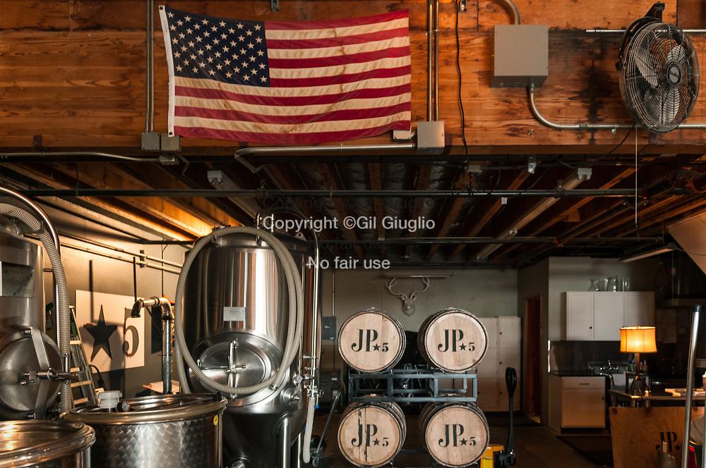 Etats Unis d'Amérique, état de Washington, ville de Woodinville, JP Trodden Distillery // USA, Washington state, Woodinville town, JP Trodden distillery