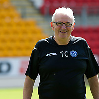St Johnstone FC Season 2012-13 Photocall<br /> Tommy Campbell<br /> Picture by Graeme Hart.<br /> Copyright Perthshire Picture Agency<br /> Tel: 01738 623350  Mobile: 07990 594431