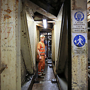 Chiomonte (TO) 17/02/17 Cantiere del tunnel geognostico della Tav Torino-Lione