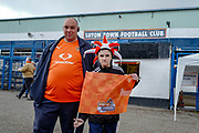 Luton Town fans arrive at the ground ahead of the EFL Sky Bet League 1 match between Luton Town and Oxford United at Kenilworth Road, Luton, England on 4 May 2019.