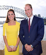 KATE & Prince William Visit Opera House, Sydney