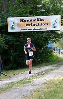 2019-07-20 | Hensmåla, Sweden:Tingsrydskommun : Winning lady at Hensmåla Triathlon Tingsrydskommun ( Photo by: Eva-Lena Ramberg )<br /> <br /> Keywords: Tingsrydskommun, Hensmåla, Triathlon, Hensmåla Triathlon, Triathlon, Hensmåla
