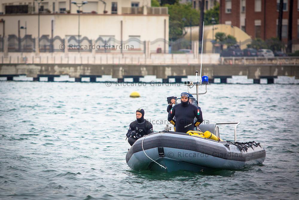 08/05/2016 - Marina Militare - Rescue Staff at 2016 Cagliari ITU Triathlon World Cup -