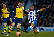 Brighton & Hove Albion v Arsenal 25/01/2015