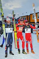 Renato Pasini (ITA), Ola Vigen Hattestad (NOR) und Johan Kjoelstad (NOR). © Werner Schaerer/EQ Images