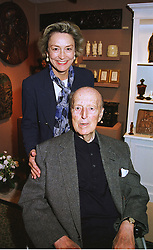 LORD & LADY HOWARD DE WALDEN at an antiques fair in London on 9th June 1999.MSY 34