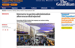 The Guardian; King's Cross Station, London