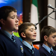 08/12/2015                <br /> Limerick City & County Council launches Ireland 2016 Centenary Programme<br /> <br /> An extensive programme of events across the seven programme strands of the Ireland 2016 Centenary Programme was launched at the Granary Library, Michael Street, Limerick, last night (Monday, 7 December 2015) by Cllr. Liam Galvin, Mayor of the City and County of Limerick.<br /> <br /> Led by Limerick City & County Council and under the guidance of the local 1916 Co-ordinator, the programme is the outcome of consultations with interested local groups, organisations and individuals who were invited to participate in the planning and implementation of events and initiatives during 2016.  <br /> <br /> Performing during the event were, St. Mary's Boys School, Abbeyfeale Co. Limerick. Picture: Alan Place