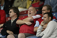 Photo: Aidan Ellis.<br /> Huddersfield Town v Bristol City. Coca Cola League 1. 12/08/2006.<br /> Bristol fans show there anger at losing after leading 1-0