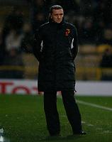 Photo: Richard Lane/Richard Lane Photography. Watford v Blackpool. Coca Cola Championship. 01/11/2008. Adrian Bootroyd looks glum