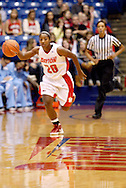 UD senior Patrice Lalor (20) as the Rhode Island Rams play the University of Dayton Flyers at UD Arena in Dayton, Saturday, January 7, 2012.