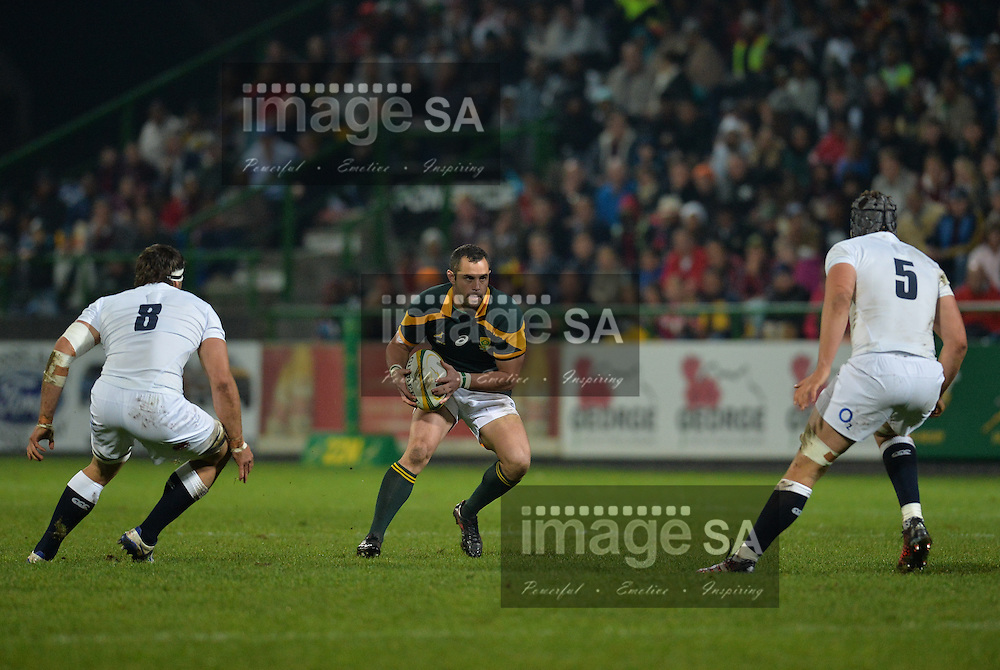 GEORGE, SOUTH AFRICA - JUNE 17: Francois Brummer of South Africa during the match between South Africa 'A' and England Saxons at Outeniqua Park on June 17 2016 in George, South Africa. (Photo by Roger Sedres/Gallo Images)