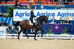 Bachmann Andersen Daniel, DEN, Blue Hors Zack<br /> Göteborg - Gothenburg Horse Show 2019 <br /> FEI Dressage World Cup™ Final II<br /> Grand Prix Freestyle/Kür<br /> Longines FEI Jumping World Cup™ Final and FEI Dressage World Cup™ Final<br /> 06. April 2019<br /> © www.sportfotos-lafrentz.de/Stefan Lafrentz