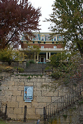 October 2009: The Felt House Guest House in downtown Galena Illinois. Sights to see in and around Galena Illinois.