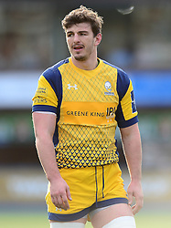Sam Lewis of Worcester Warriors - Mandatory by-line: Dougie Allward/JMP - 04/02/2017 - RUGBY - BT Sport Cardiff Arms Park - Cardiff, Wales - Cardiff Blues v Worcester Warriors - Anglo Welsh Cup