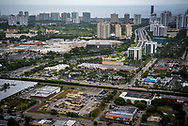Looking East towards Aventura Mall and Sunny Isles.
