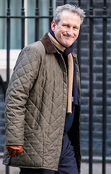 © Licensed to London News Pictures. 27/02/2018. London, UK. Education Secretary Damian Hinds on Downing Street. Photo credit: Rob Pinney/LNP