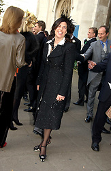 KIRSTIE ALLSOPP at the wedding of Clementine Hambro to Orlando Fraser at St.Margarets Westminster Abbey, London on 3rd November 2006.<br />