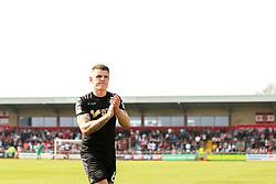 Max Power of Wigan Athletic- Mandatory by-line: Robbie Stephenson/JMP - 21/04/2018 - FOOTBALL - Highbury Stadium - Fleetwood, England - Fleetwood Town v Wigan Athletic - Sky Bet League One