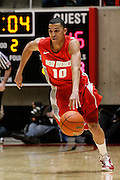 New Mexico guard Kendall Williams (10) heads down the court during an NCAA college basketball game against Utah, Wednesday, Jan. 19, 2011, in Salt Lake City. (AP Photo/Colin E Braley)