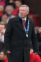 Football - Premier League 2012 / 2013 - Manchester United vs. Swansea<br /> Alex Ferguson, manager of Manchester United at Old Trafford
