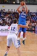 RIMINI 12 AGOSTO 2011<br /> BASKET FIP<br /> TROFEO INTERNAZIONALE TASSONI CITTA DI RIMINI<br /> ITALIA BOSNIA<br /> NELLA FOTO BELINELLI<br /> FOTO CIAMILLO