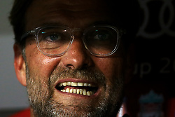 August 1, 2017 - Munich, Germany - Liverpool coach Jurgen Klopp during the second Audi Cup football match between FC Bayern Munich and FC Liverpool in the stadium in Munich, southern Germany, on August 1, 2017. (Credit Image: © Matteo Ciambelli/NurPhoto via ZUMA Press)