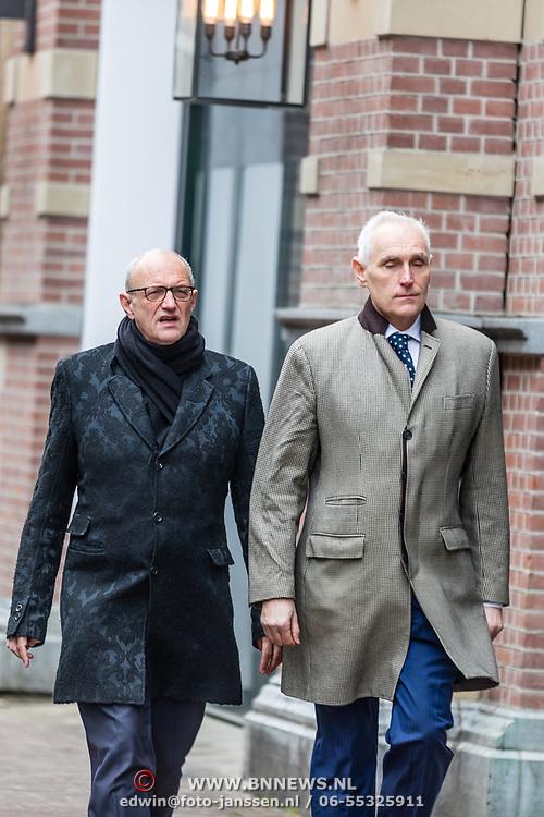 NLD/Amsterdam//20170309 - Herdenkingsdienst Guus Verstraete, Arthur Japin