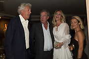 HENRY WYNDHAM; JEREMY CLARKSON; LISA HOGAN; TARA AGACE , Robin Birley and Lady Annabel Goldsmith Summer Party. Hertford St. London. 5 July 2017