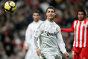 Real Madrid's Cristiano Ronaldo during La Liga match, November 05, 2009.