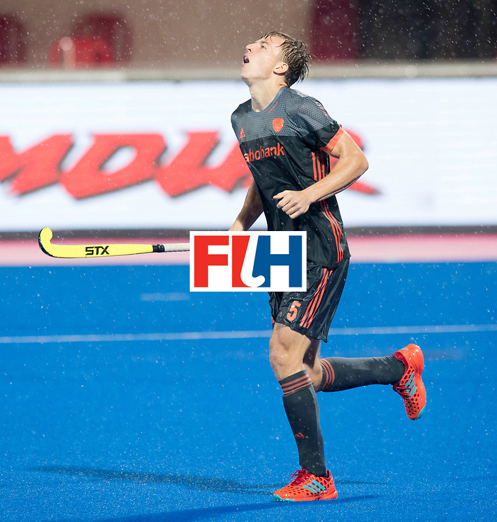 Odisha Men's Hockey World League Final Bhubaneswar 2017<br /> Match id:17<br /> England v Netherlands<br /> Foto: Thijs van Dam (Ned) <br /> COPYRIGHT WORLDSPORTPICS FRANK UIJLENBROEK