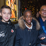 NLD/Amsterdam/20131219 - Premiere Kerstcircus 2013 Carre, Robert Halewijn en Maxim