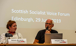 Pictured: Róisín McLaran and Asbjørn Wahl<br />