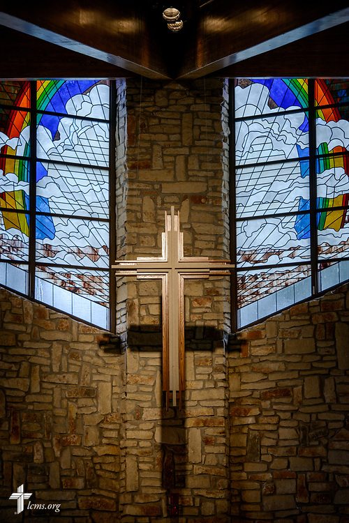 The altar cross at Gloria Dei Lutheran Church, Houston, on Thursday, Feb. 8, 2018, in Houston. LCMS Communications/Erik M. Lunsford