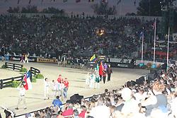 Openingceremony: Team Chile<br /> World Equestrian Games Lexington - Kentucky 2010<br /> © Dirk Caremans