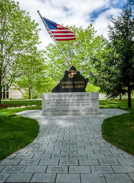 Veterans Memorial Cemetery, Boscawen, NH.