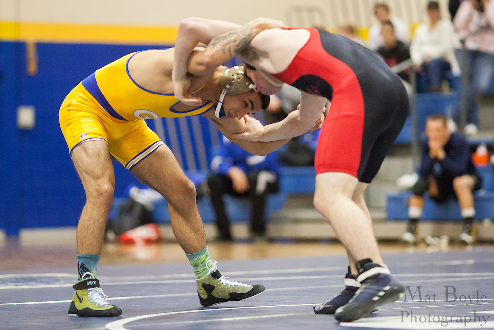 Rutgers Wrestling Club wrestles Gloucester County College as Gloucester County College Wrestling hosts the Chuck Williamson Quad Match in Sewell, NJ on Saturday December 1, 2012. (photo / Mat Boyle)