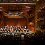 "March 11, 2013 - New York, NY : .The London Philharmonic Orchestra, lead by conductor Vladimir Jurowski, performs Gustav Mahler's Symphony No. 5 in C-sharp minor (1901-02), as part of Lincoln Center's ""Great Performers"" series at Avery Fisher Hall on Monday evening..CREDIT: Karsten Moran for The New York Times"