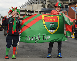Ronan and Daniel Touhy from Bunniconlon at the All Ireland final replay.<br />