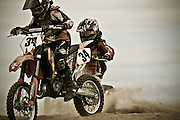 Motocross kids at the local track in Invercargill, New Zealand.