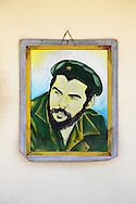 Image of Ernesto Che Guevara in Camaguey, Cuba.