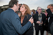 JAMES SEYMOUR; TRACEY EMIN; ANTHONY FAWCETT, Opening of Love is what you want. Exhibition of work by Tracey Emin. Hayward Gallery. Southbank Centre. London. 16 May 2011. <br /> <br />  , -DO NOT ARCHIVE-© Copyright Photograph by Dafydd Jones. 248 Clapham Rd. London SW9 0PZ. Tel 0207 820 0771. www.dafjones.com.