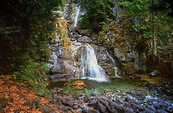 Rainbow Falls, Stehekin, North Cascades National Park, Washington. US